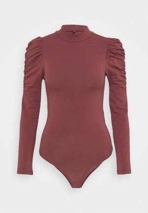 ONLZAYLA PUFF BODY - Topper langermet - rose brown