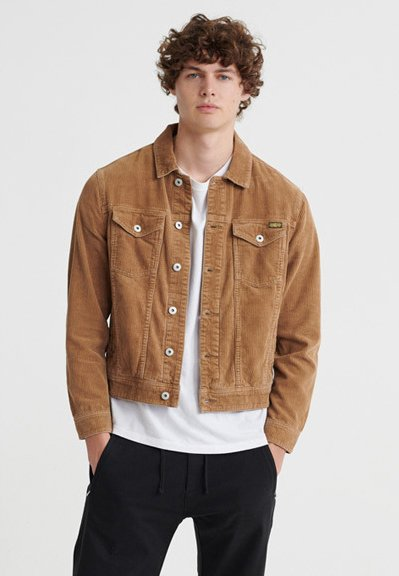 Summer jacket - dark tobacco