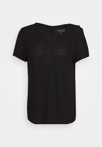 KURZARM - Basic T-shirt - black
