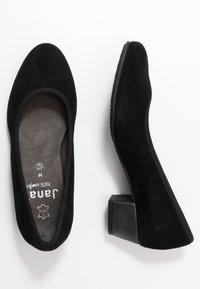Jana - COURT SHOE - Classic heels - black - 3