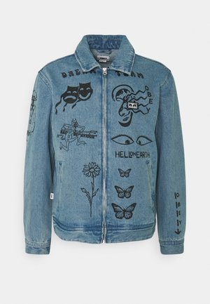 DREAM TEAM - Denim jacket - light indigo