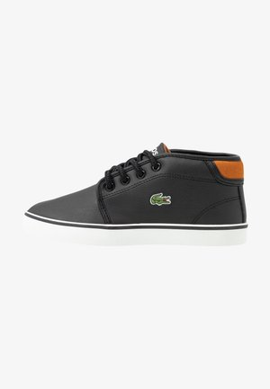 AMPTHILL - Sneakers alte - black/brown