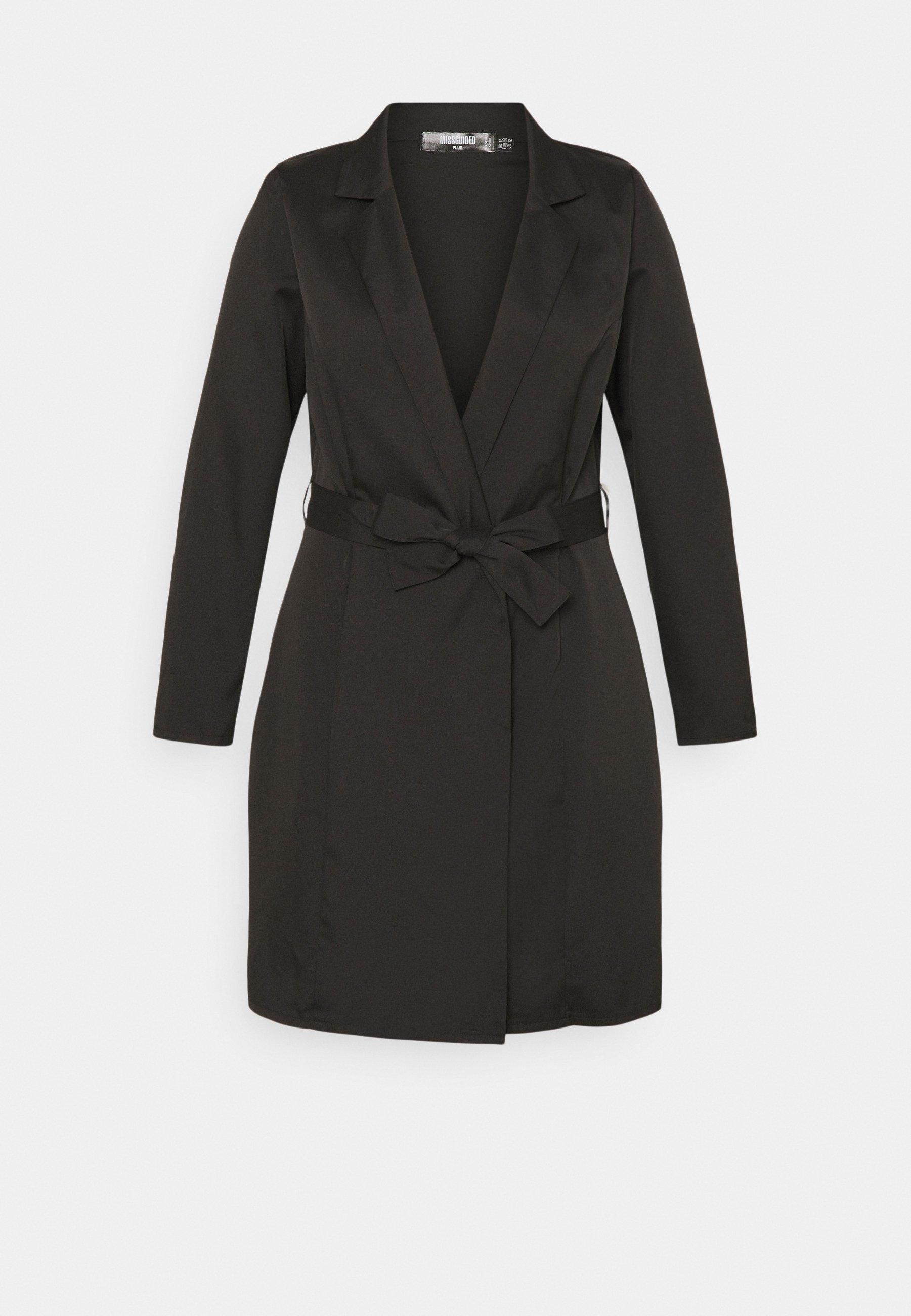 Donna PLUS BASIC WRAP BLAZER - Cappotto corto