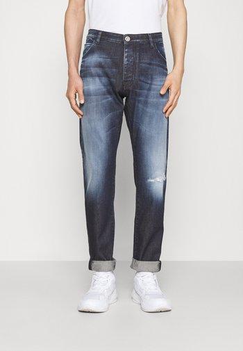 5 POCKETS PANT - Džíny Straight Fit - denim blu