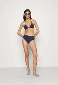 LASCANA - HIGHWAIST - Bikini bottoms - navy - 1