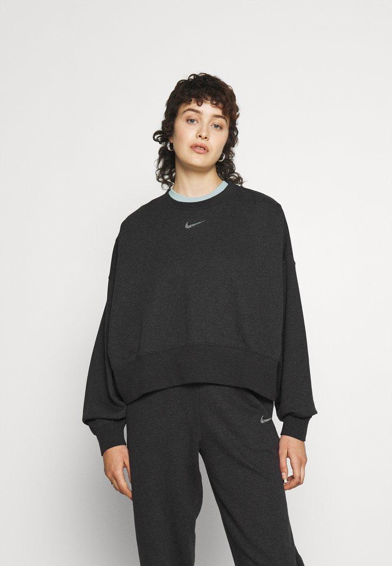 Nike Sportswear - CREW - Sudadera - black heather