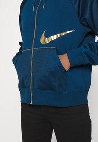 Nike Sportswear - Zip-up hoodie - valerian blue/deep ocean - 5