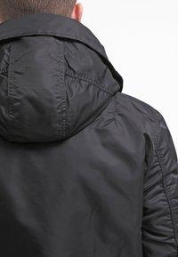 Alpha Industries - HOODED STANDART FIT - Light jacket - black - 6