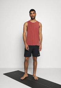 Nike Performance - TANK  - Sports shirt - claystone red/black - 1