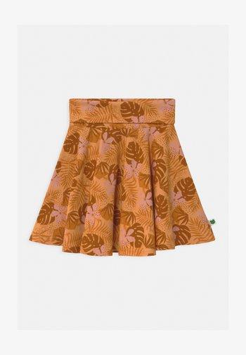 SAFARI CAMO - Áčková sukně - mango