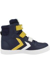 Hummel - STADIL PRO JR - Zapatillas skate - black iris-sulphur - 4