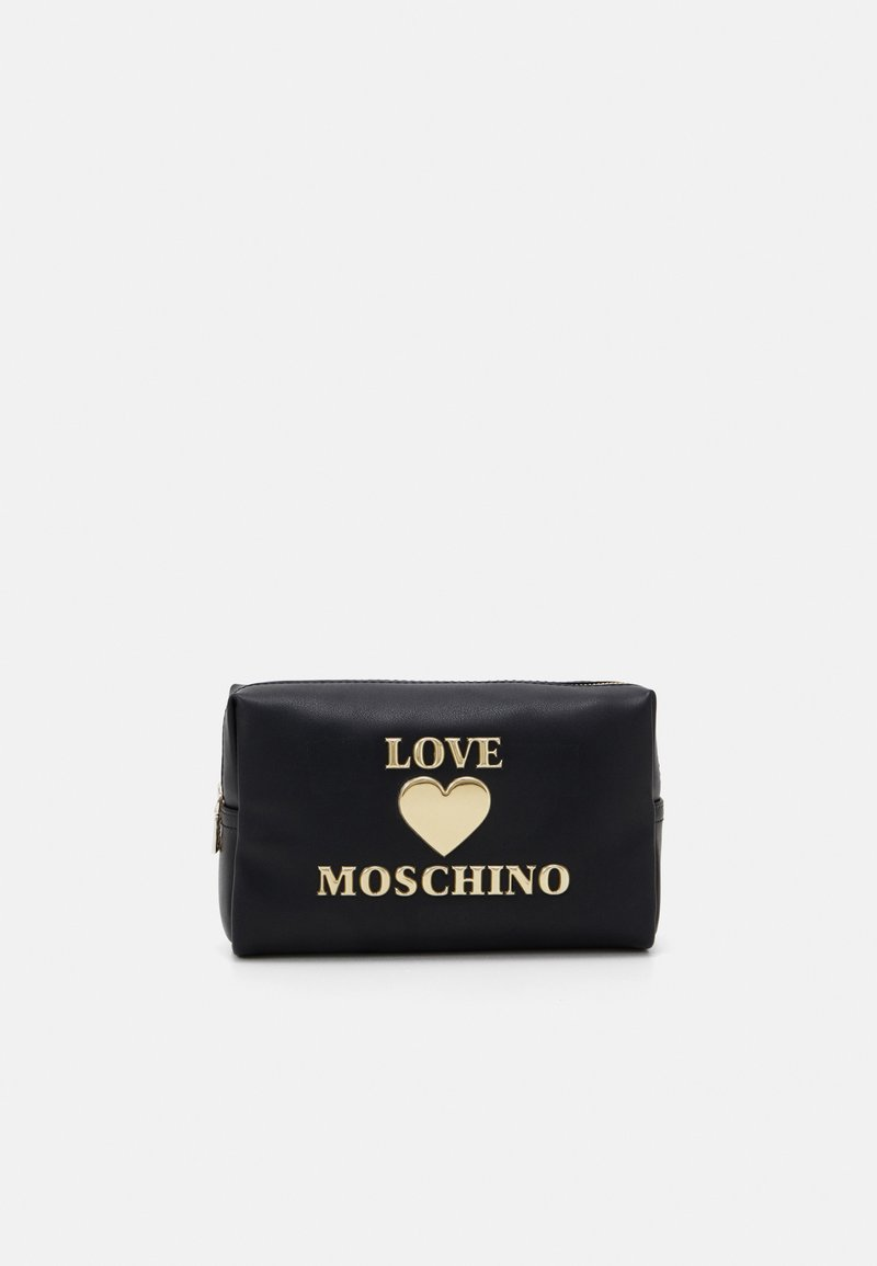 Love Moschino - BUSTINA ROSSO - Trousse - black