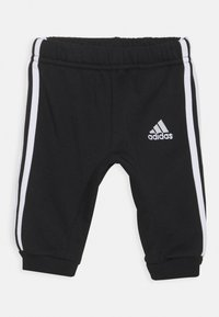 adidas Performance - LOGO SET UNISEX - Tracksuit - medium grey heather/black - 2