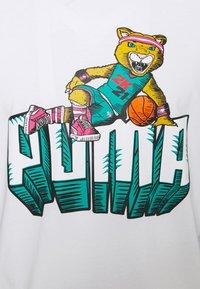 Puma - NBA 2K LONG SLEEVE - Long sleeved top - white - 5