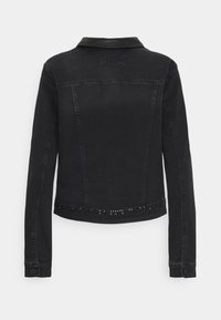 comma - LANGARM - Denim jacket - black - 1