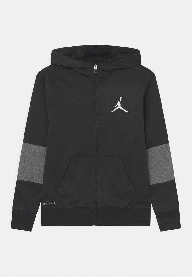 Jordan - CORE PERFORMANCE THERMA - Zip-up sweatshirt - black