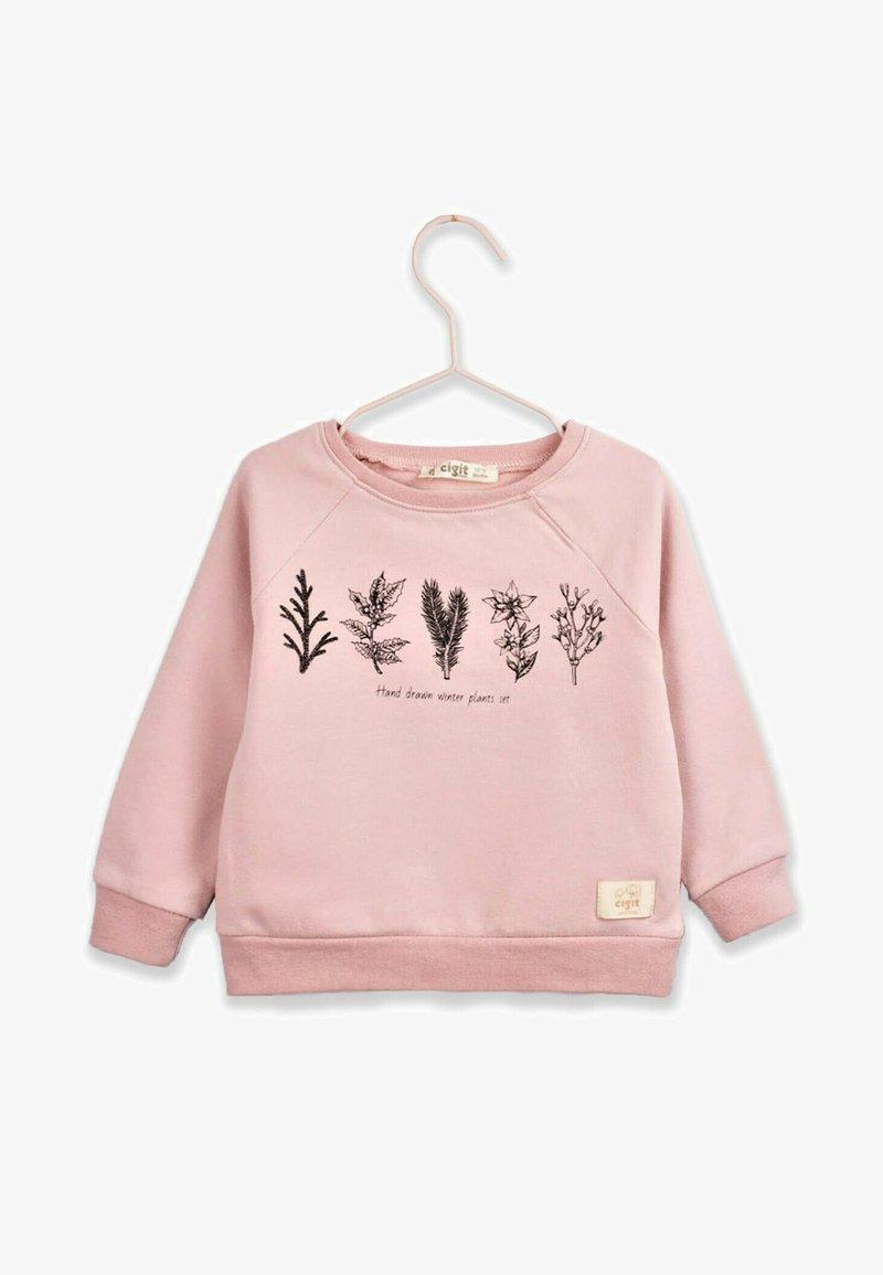 Cigit - Sweatshirt - powder pink