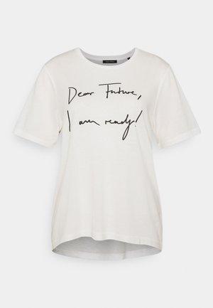 SHORT SLEEVE - T-shirts med print - cotton white