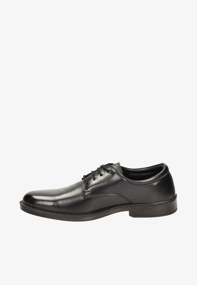 heren  - Smart lace-ups - zwart