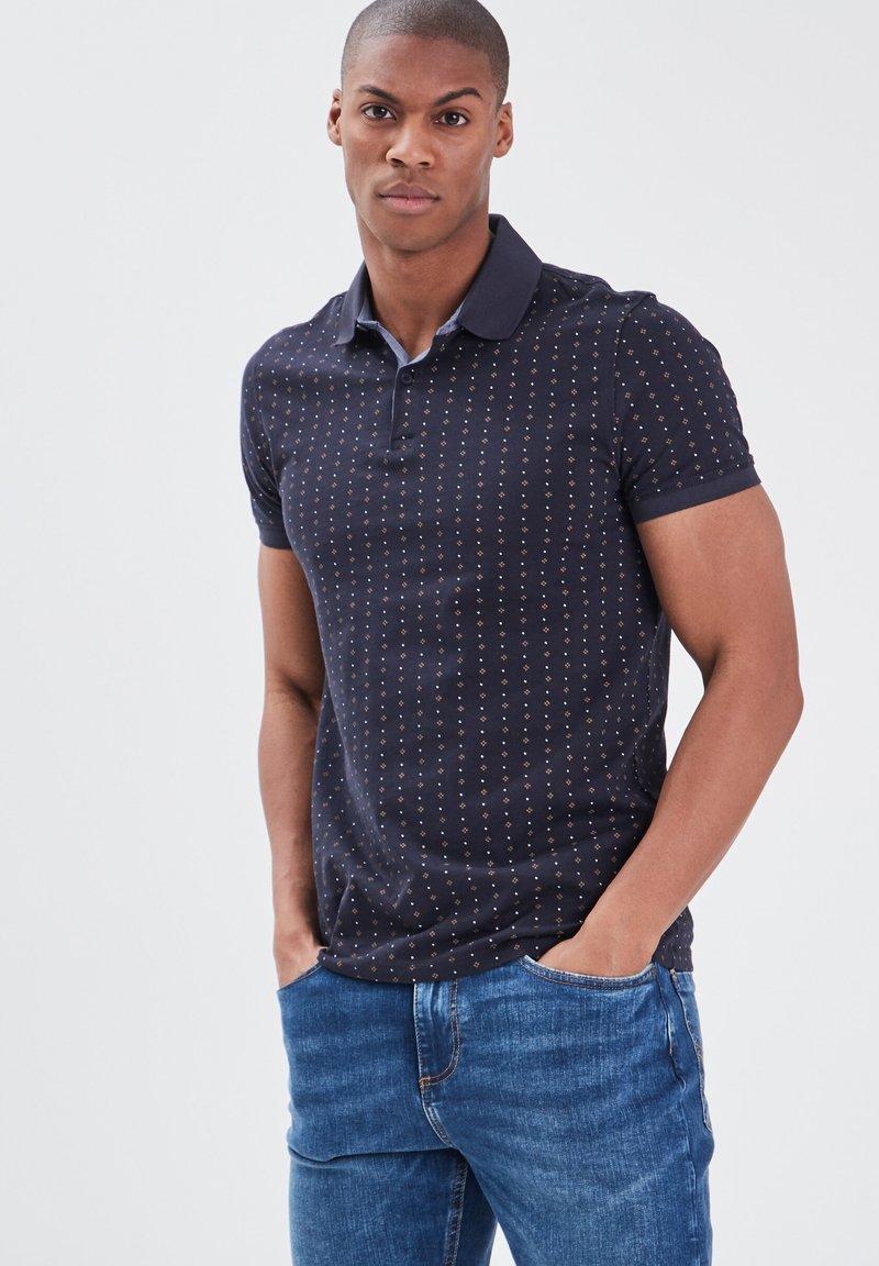 BONOBO Jeans - Poloshirt - bleu foncé