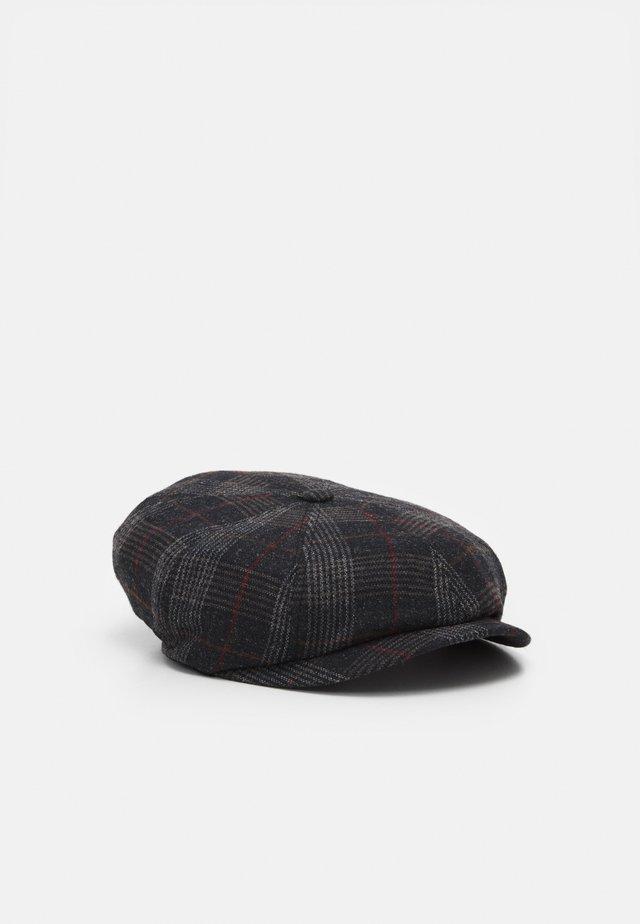 SHELDON FLATCAP BAKERBOY - Hat - charcoal