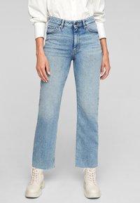 s.Oliver - REGULAR - Straight leg jeans - blue - 0