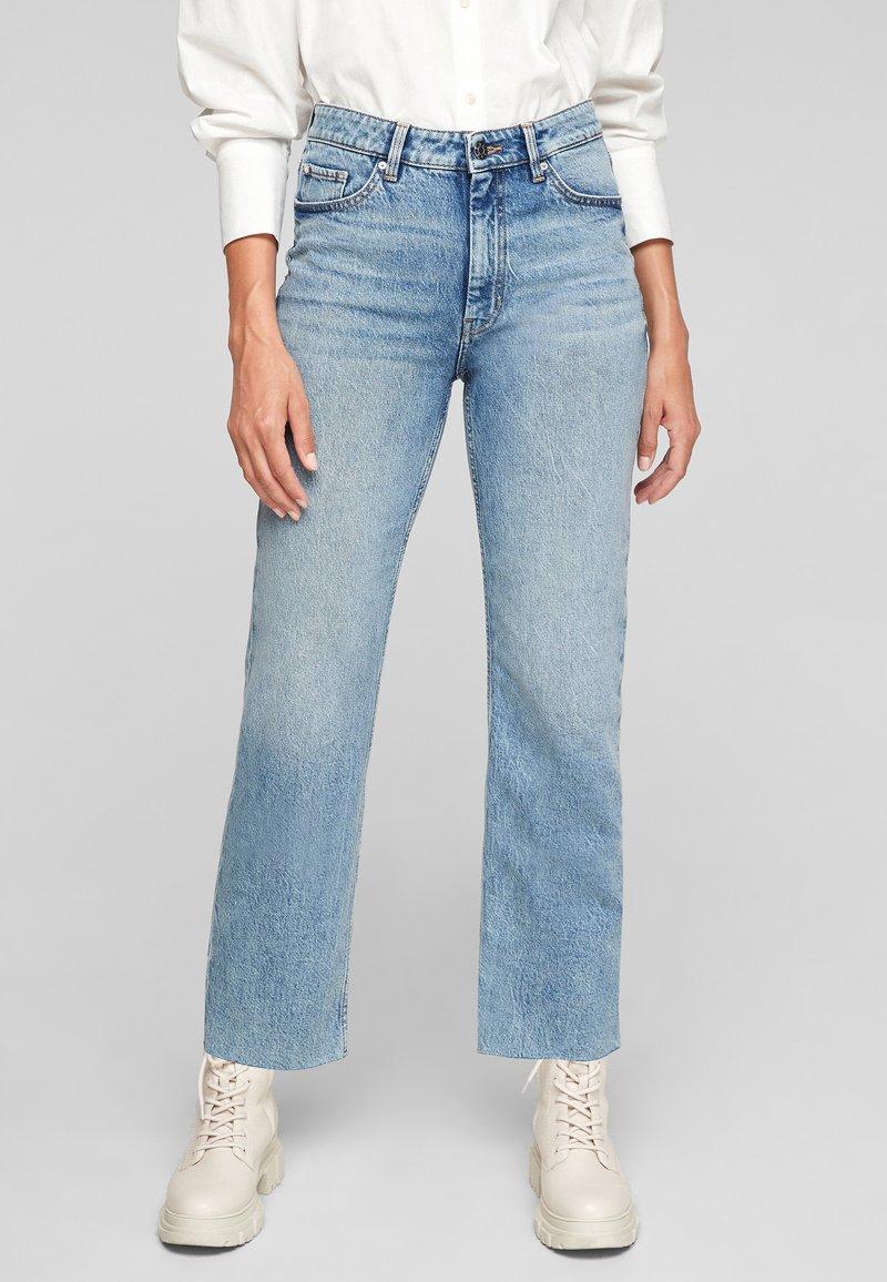 s.Oliver - REGULAR - Straight leg jeans - blue