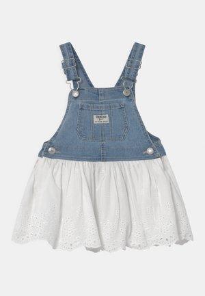 JUMPER - Denimové šaty - blue