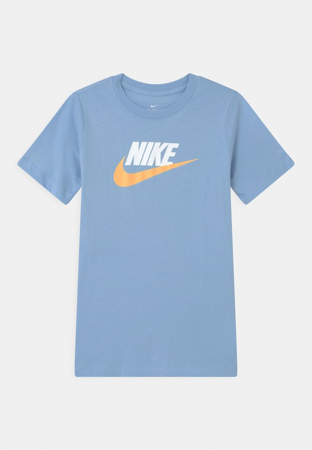 FUTURA ICON - Print T-shirt - psychic blue