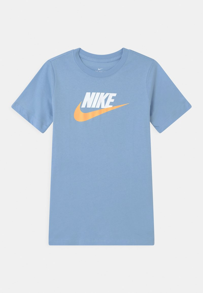 Nike Sportswear - FUTURA ICON TEE - T-Shirt print - psychic blue