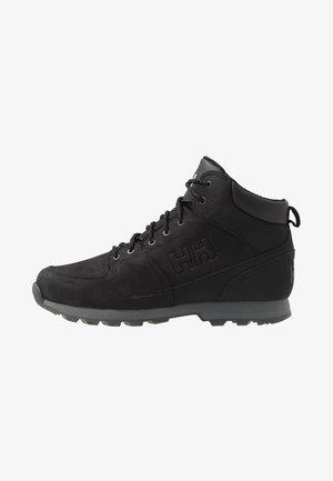 TSUGA - Vysoká chodecká obuv - jet black/charcoal