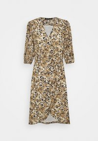 Soaked in Luxury - MELROSE WRAP DRESS - Day dress - multifloral ermine - 0