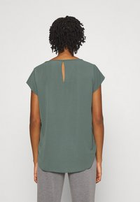 ONLY - ONLNOVA LUX SOLID - Basic T-shirt - balsam green - 2