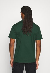 Carhartt WIP - UNIVERSITY  - Print T-shirt - bottle green/white - 2