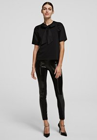 KARL LAGERFELD - Blouse - black