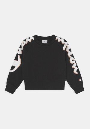CREW NECK UNISEX - Sweatshirt - black