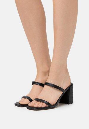 SEVADOSA - Heeled mules - black