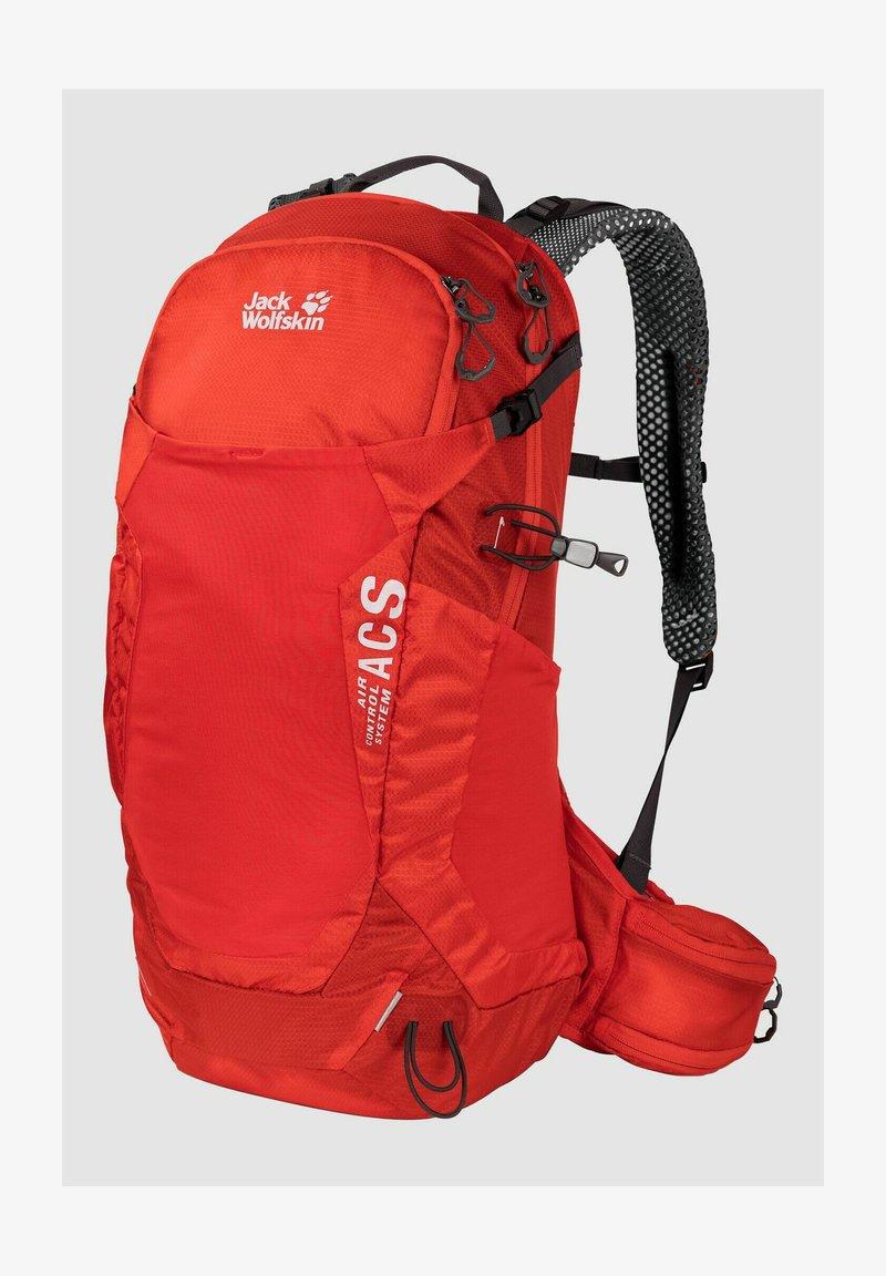 Jack Wolfskin - CROSSTRAIL  - Hiking rucksack - fiery red