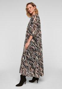 s.Oliver - Maxi dress - black aop - 2