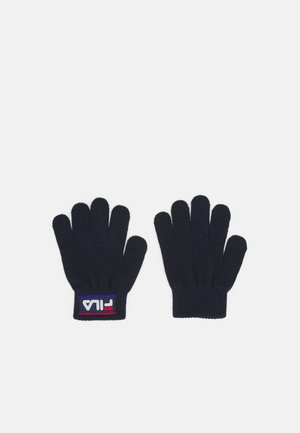 TAPED GLOVES UNISEX - Gloves - black iris