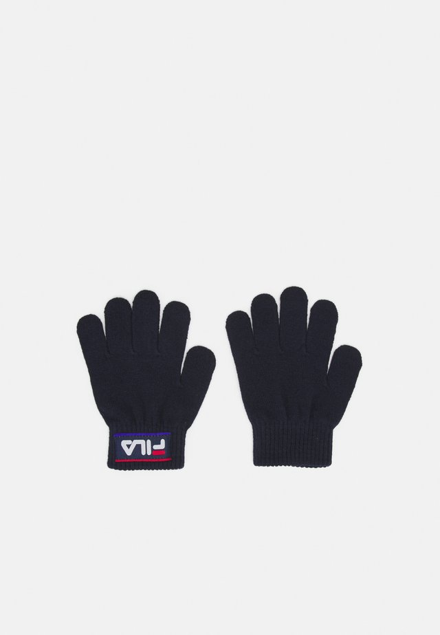 TAPED GLOVES UNISEX - Fingerhandschuh - black iris