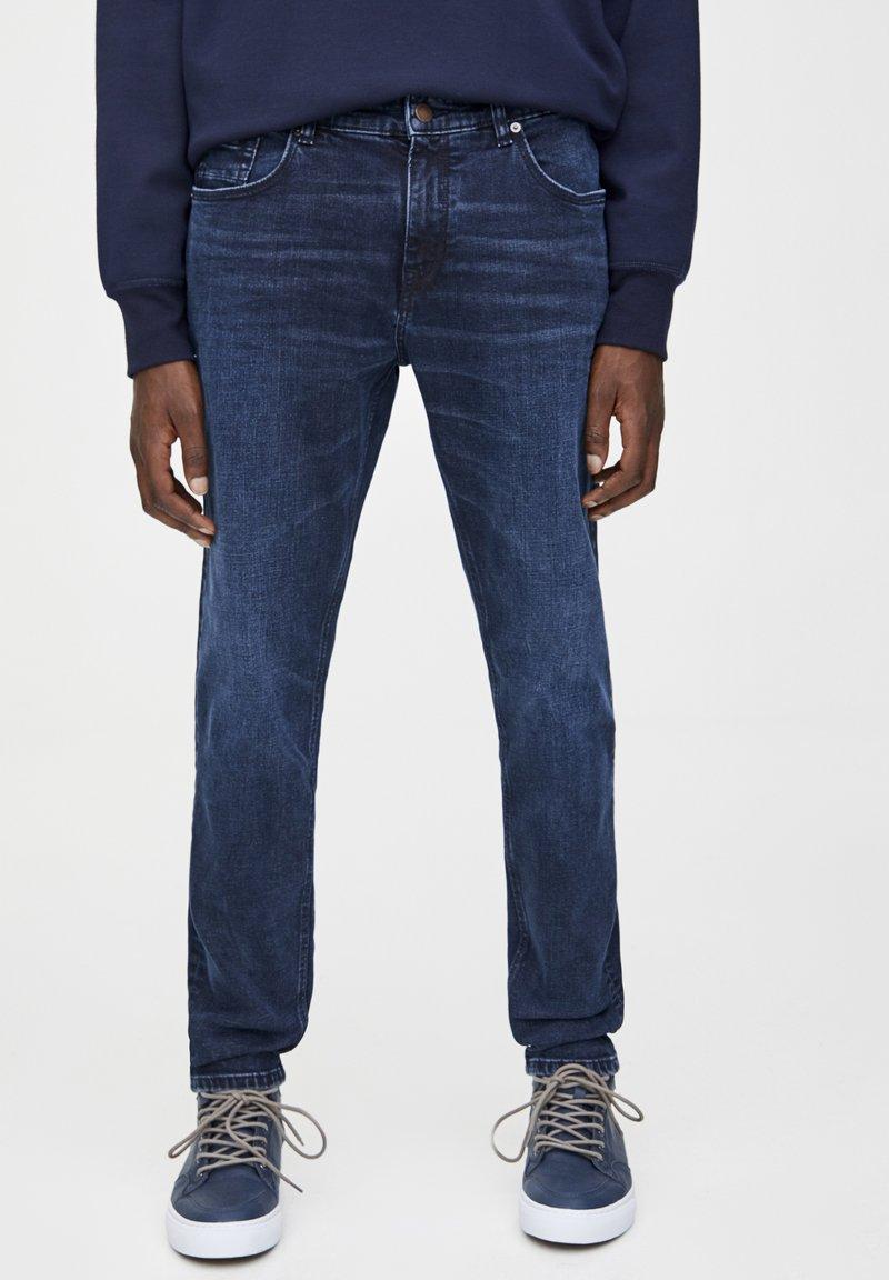PULL&BEAR - Jeans slim fit - dark-blue denim