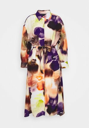CLAIRE DRESS - Shirt dress - multi-coloured