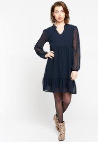 LolaLiza - RUFFLED  - Day dress - navy blue - 1