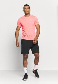Nike Performance - DRY  - Camiseta básica - laser crimson/white - 1