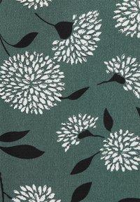 ONLY - ONLNOVA LUX SMOCK - Blouse - balsam green/white - 6
