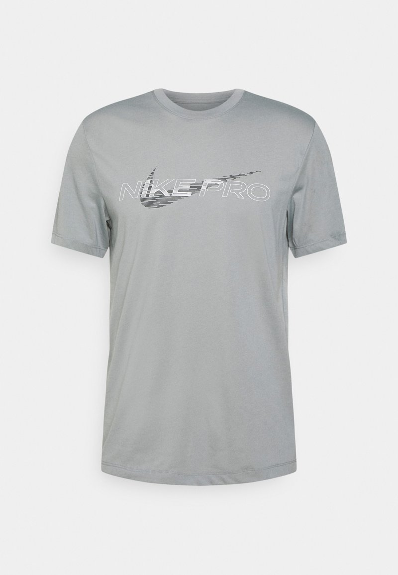 Nike Performance - TEE PRO - T-shirt med print - particle grey