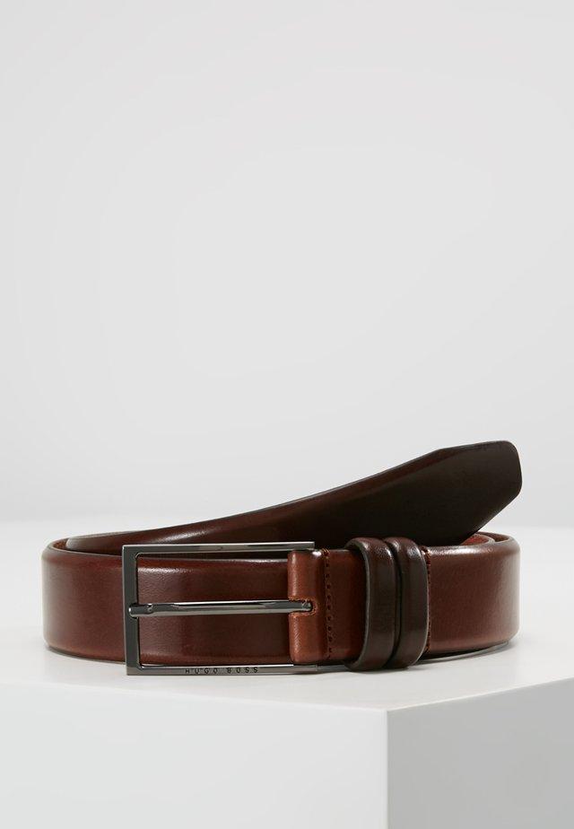 CARMELLO - Belt business - medium brown