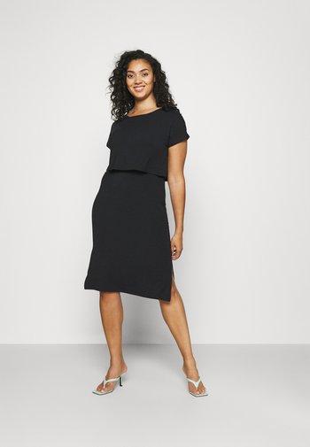 MLJILL DRESS  - Jersey dress - black
