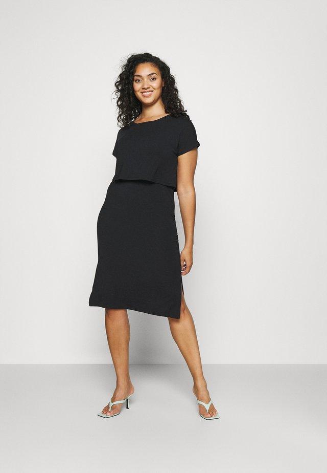 MLJILL DRESS  - Vestito di maglina - black